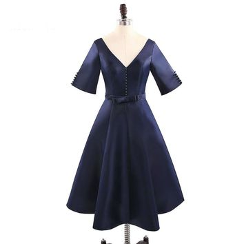 Women Dresses Summer Robe Dress Pinup Cocktail Party Dresses