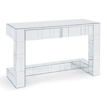 Tiled Mirror Table