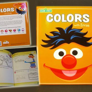 Sesame Street Colors with Ernie Coloring Book - CASE OF 30