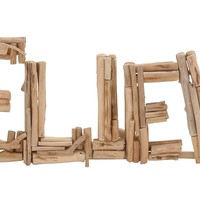 Creative Styled Classy Driftwood Believe