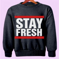 Stay Fresh Crewneck