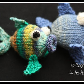 Amigurumi fish pattern (knitting)