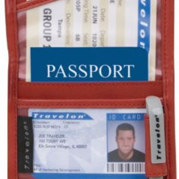 Travelon ID and Boarding Pass Holder with Snap One Size