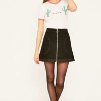 Truly Madly Deeply Palm Springs Ringer T-shirt - Urban Outfitters
