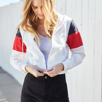 John Galt Zip Windbreaker Jacket | PacSun