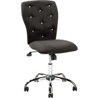 Lucille Black Desk Chair
