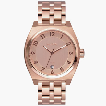 Nixon Monopoly Watch All Rose Gold One Size For Men 25960562101