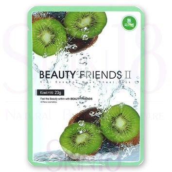 Beauty Friends II Essence Mask Sheet Pack (Kiwi)