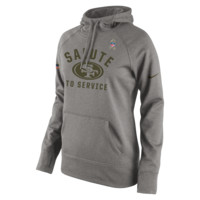 Nike Salute to Service Pullover (NFL 49ers) Women's Performance Hoodie