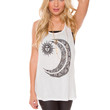 Sun + Moon Bff Top - White