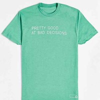 Various Keytags X UO Good At Bad Decisions Tee