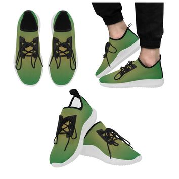 Men's Green Star Dolphin Ultra Light Running Shoes