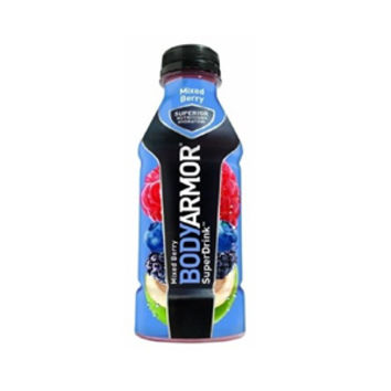Body Armor Mixed Berry Sports Drink 16 oz Bottles - Case of 12