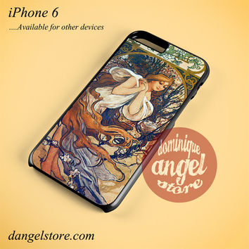 Alphonse Mucha 1 Phone case for iPhone 6 and another iPhone devices