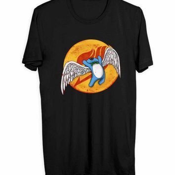 Aye Sir Wings Of Fairy Tail Men T Shirts