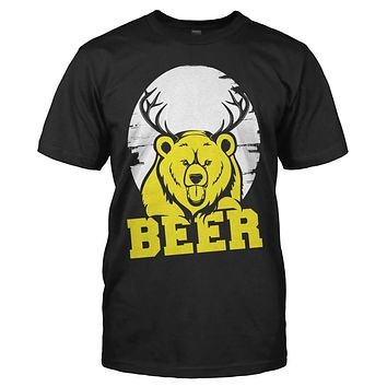 Bear + Deer = Beer - T Shirt
