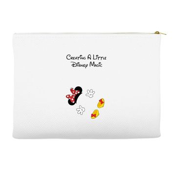 Creating A Little Disney Magic Minnie Mouse Accessory Pouches