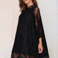 Midnight Hour Lace Dress
