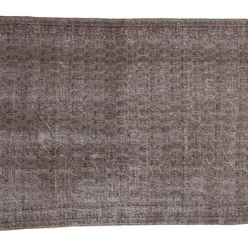 RESERVED 5x8 Distressed Oushak Carpet