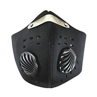 Outdoor Men Cycling Face Masks Half Face Mask Anti-Dust Outdoor Sports Bicycle Mask Carbon Protective Filter Air Pollutant