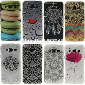 For Samsung Galaxy S5 S6 S7 Edge A3 A5 J1 J3 2016 J5 Core Grand Prime For iPhone 5s SE 6 6s Plus Soft TPU Phone Cases Back Cover