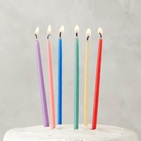 Knot & Bow Beeswax Birthday Candles in Assorted Size: Set Of 12 Candles