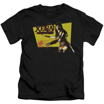 Xena - Cut Up Short Sleeve Juvenile 18/1 Shirt Officially Licensed T-Shirt