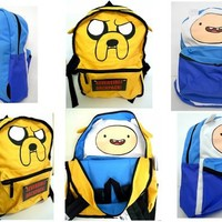 Adventure Time Finn/Jake Reversible Backpack