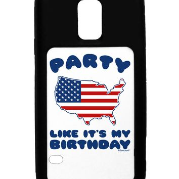 Party Like It's My Birthday - 4th of July Galaxy S5 Case by TooLoud