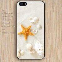 iPhone 5s 6 case Romantic beach Shell Beach dream phone case iphone case,ipod case,samsung galaxy case available plastic rubber case waterproof B675