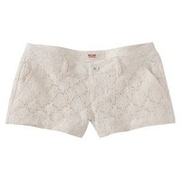 Mossimo Supply Co. Juniors Lace Short - Dog Bone  7