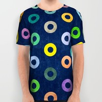 Auras. All Over Print Shirt by Nick Nelson