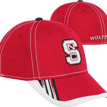 Adidas NC State Wolfpack Cap Flex Fit L/XL Hat w/ Climalite North Carolina State