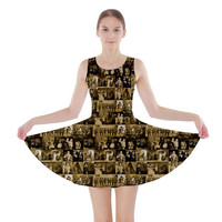 Just My Tin Type Skater Dress XS-3XL