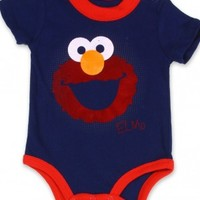 Elmo Onesuit Red Ringer Elmo Creeper