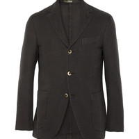 Boglioli Unstructured Cotton Birdseye Blazer | MR PORTER