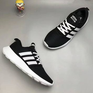 Adidas Neo Unisex Sport Casual Breathable Sneakers Couple Running Shoes