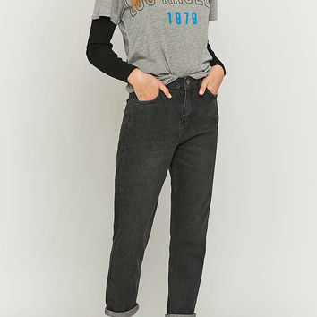 BDG Worn Black Mom Jeans - Urban Outfitters
