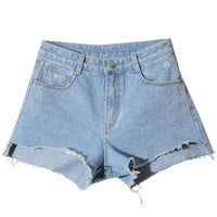 Denim shorts - Jetset Diaries - Shorts - Pants & Shorts - Women - Modekungen