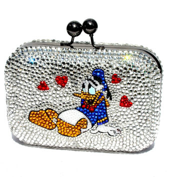 Crystal Donald & Daisy Clutch