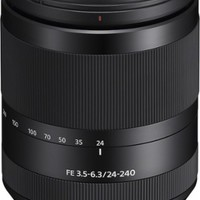 Sony - FE 24-240mm f/3.5-6.3 OSS Full-Frame E-Mount Telephoto Zoom Lens - Black