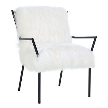 Lena White Sheepskin
