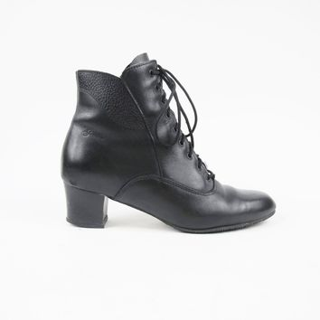 Vintage Witchy Ankle Boots