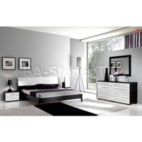 Luxury 5 PC Bedroom Set (Bed, 2 Nighstands, Dresser and Mirror) - ESF Furniture | Bedroom sets ESF-Luxury-Bed-Set/8