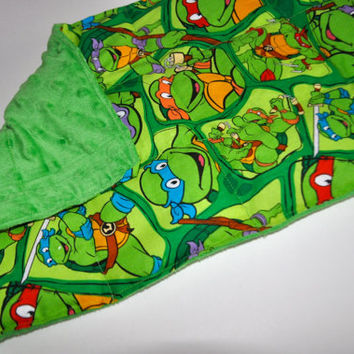 Weighted lap pad, Ninja Turtles weighted lap pad, Boys weighted lap pad, Weighted lap pad for boys, Green weighted lap pad, 2 pound lap pad