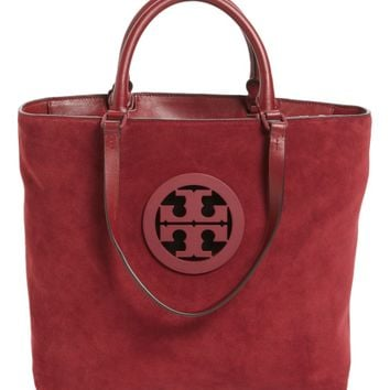 Tory Burch Charlie Suede Tote | Nordstrom