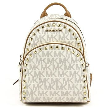 Michael Kors Womens Backpack ABBEY 35T7GAYB8B VANILLA ACRN