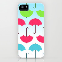 Umbrella iPhone & iPod Case by hannahclairehughes