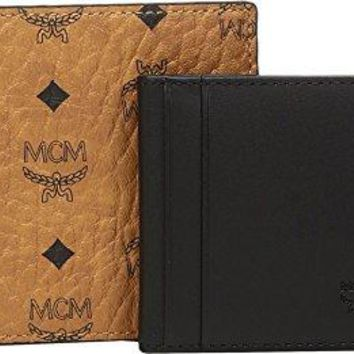 MCM Mens Claus Small Wallet