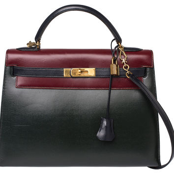 Hermès Kelly Color Block Bag, 32cm